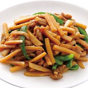 筍香炒肉絲