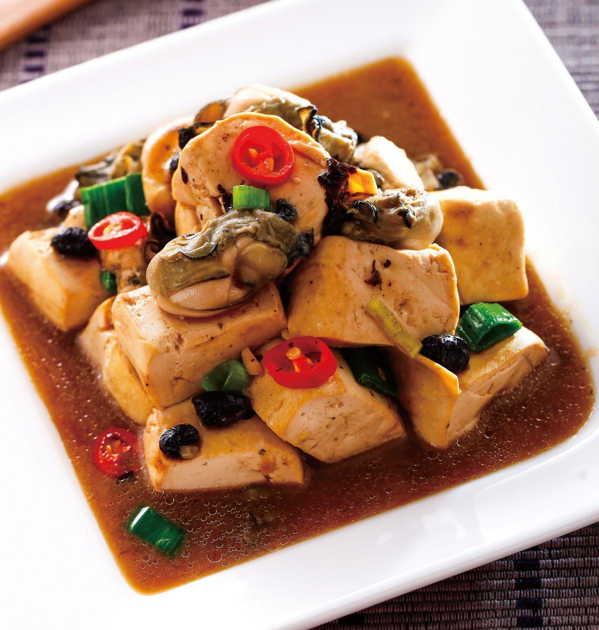 食譜:蚵仔豆腐(2)
