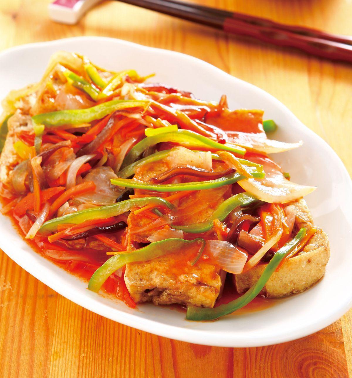 食譜:糖醋豆腐(2)