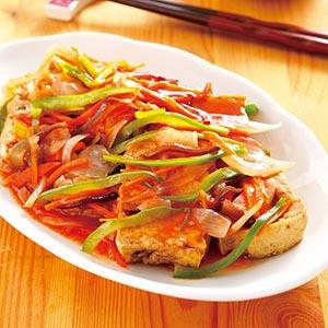 糖醋豆腐(2)