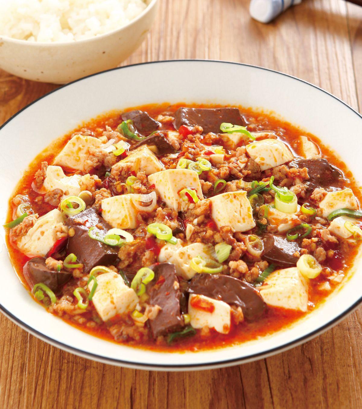 食譜:鴨血豆腐