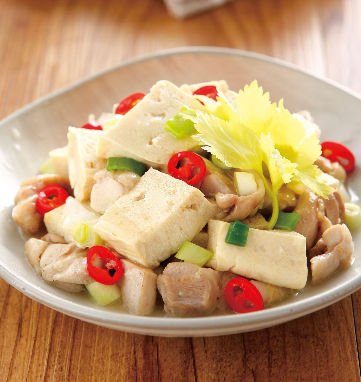 食譜:雞家豆腐(1)