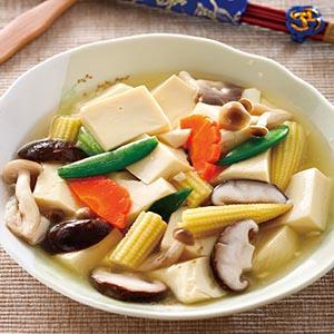 鮮菇燴豆腐