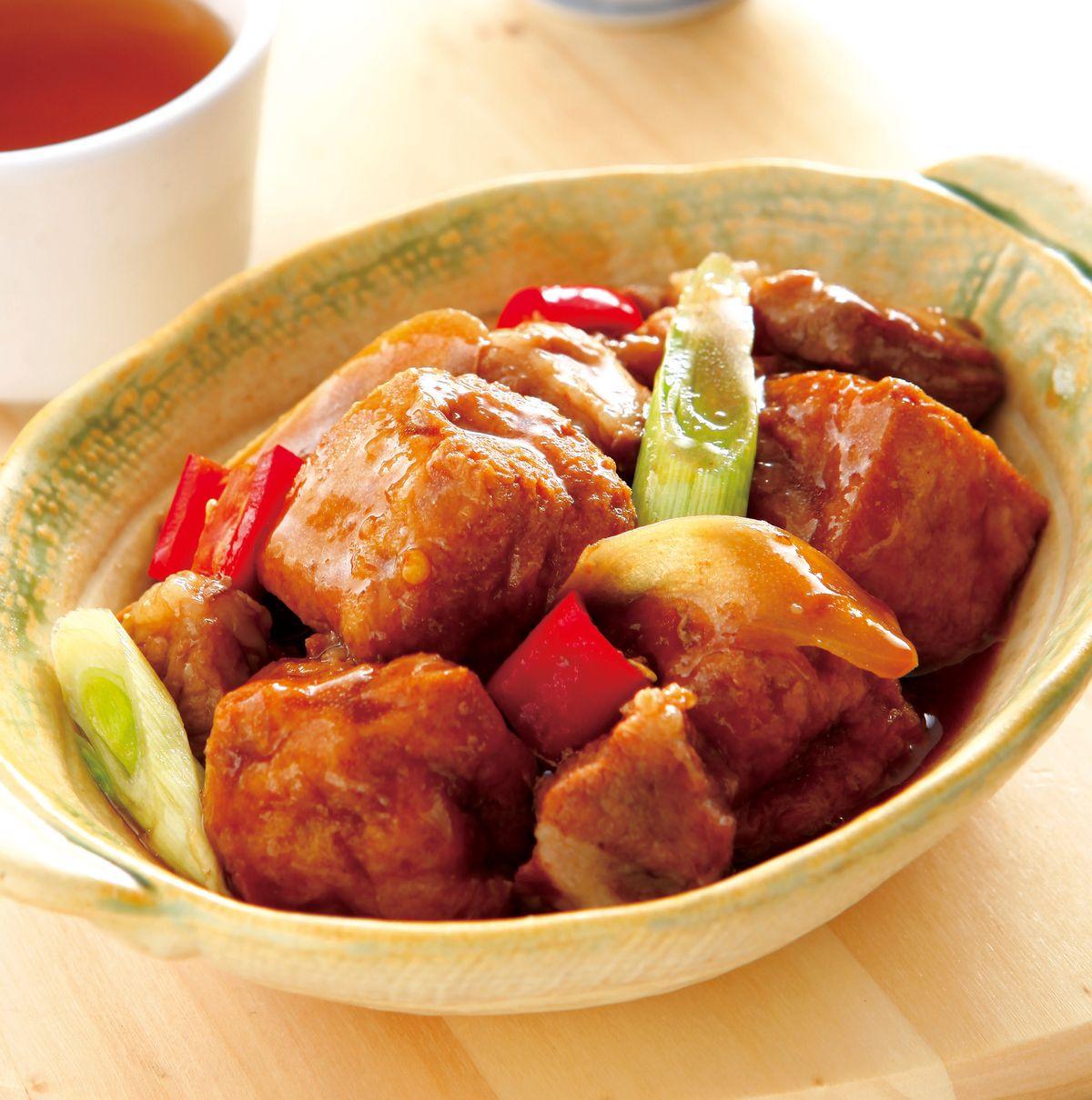 食譜:豆泡燒肉