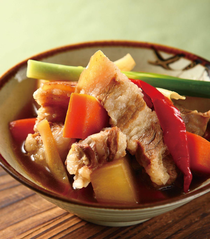 食譜:白蘿蔔滷三色