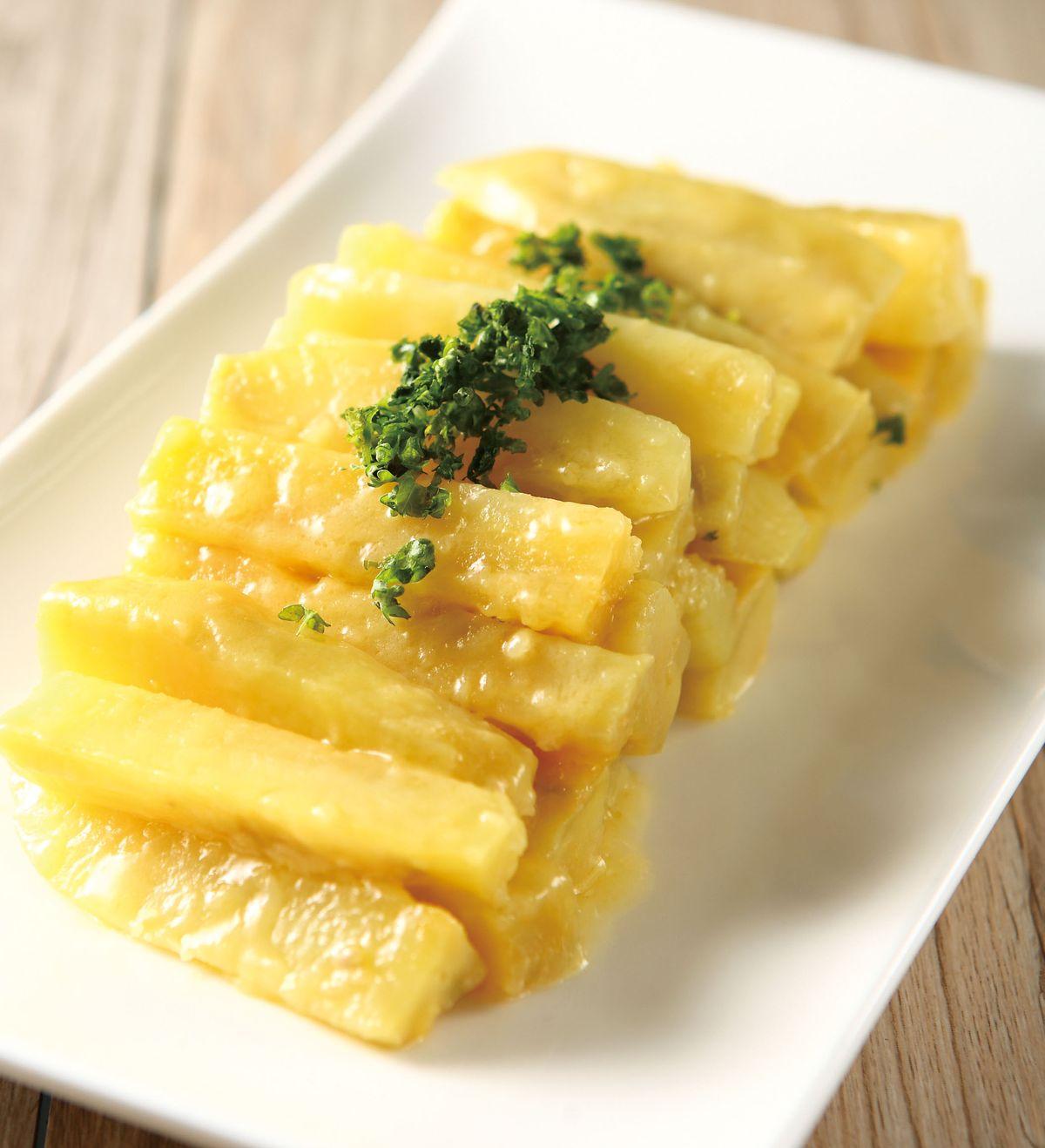 食譜:奶油炒地瓜條