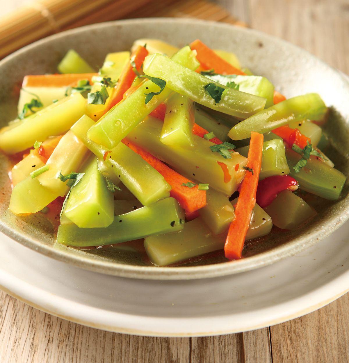食譜:泰式涼拌菜心