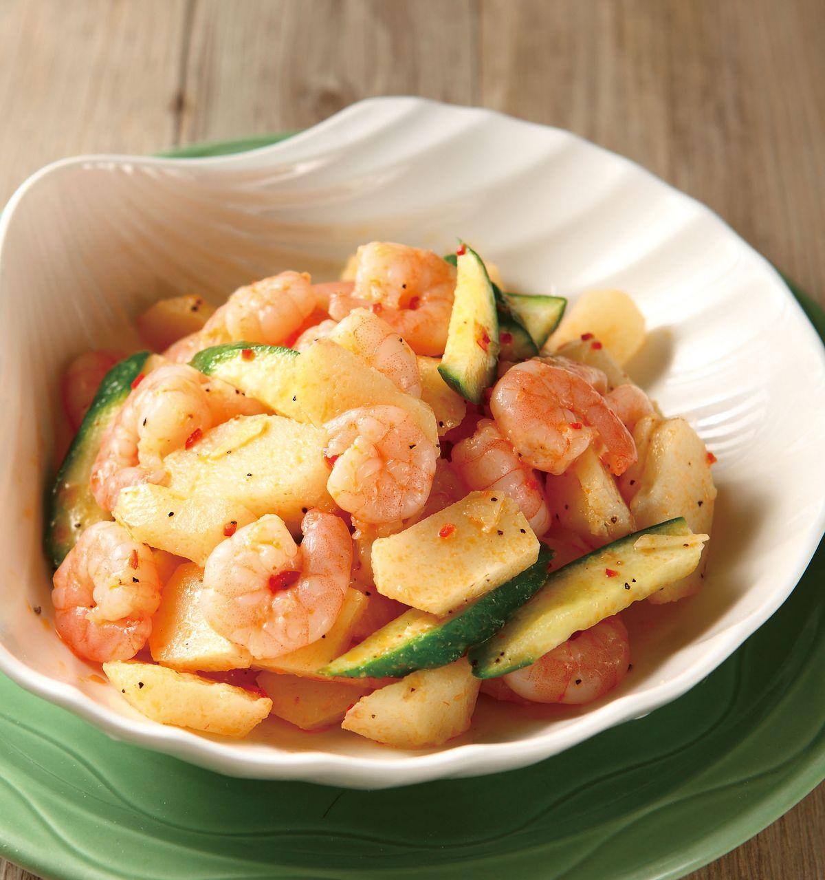食譜:涼拌荸薺辣味蝦