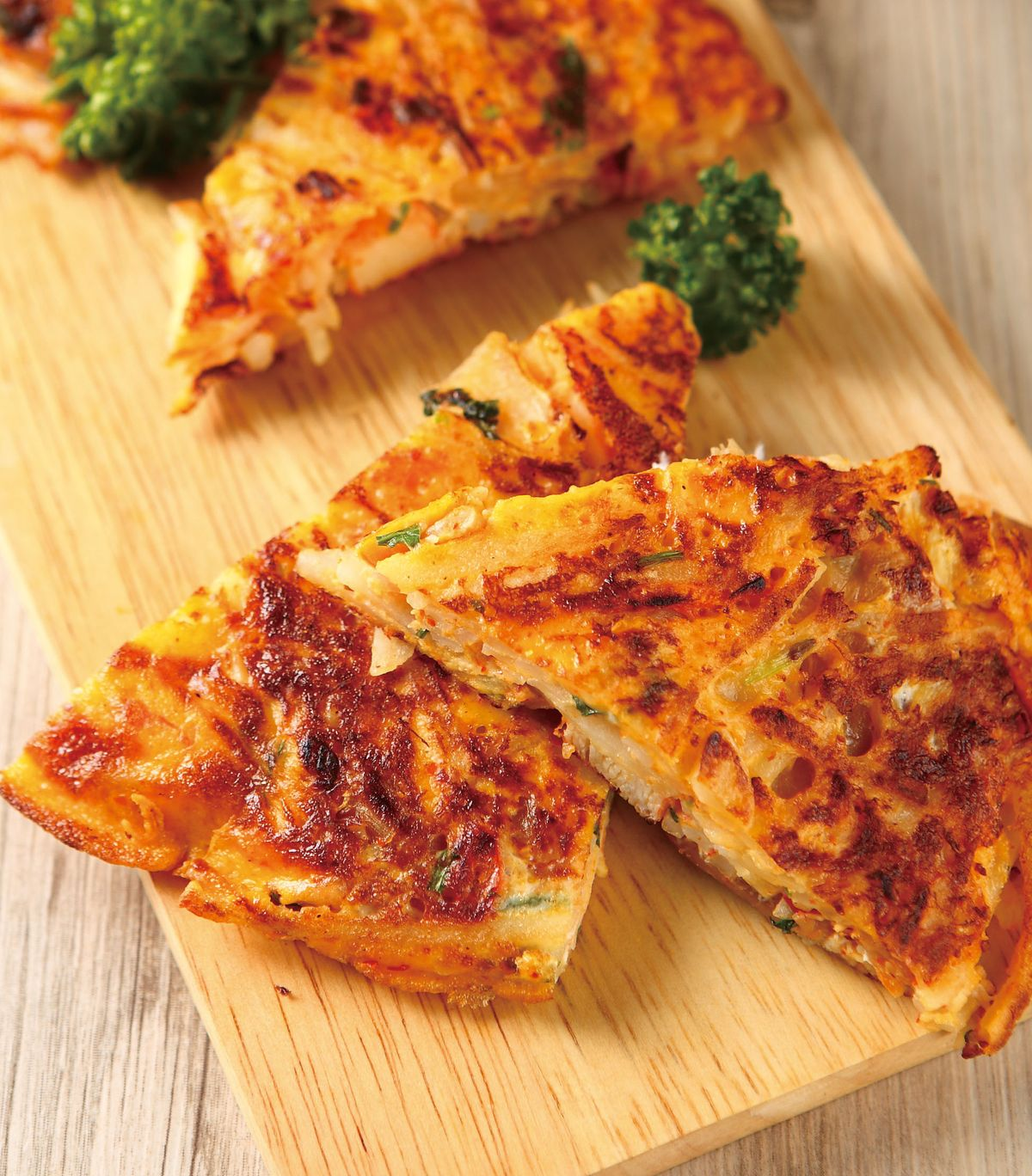 食譜:馬鈴薯泡菜煎餅(1)