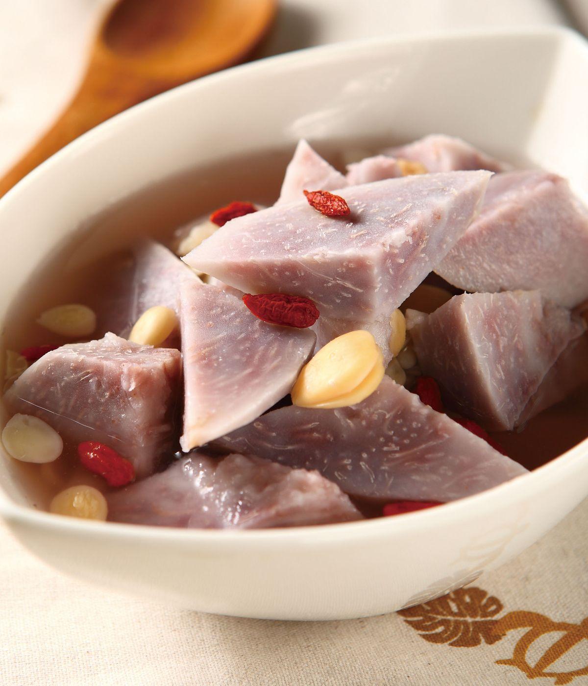 食譜:南北杏燉芋頭