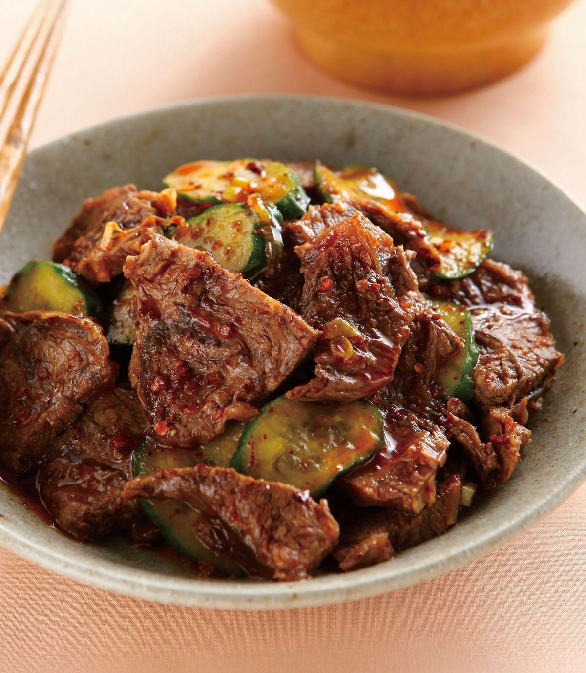 食譜:麻辣拌牛肉
