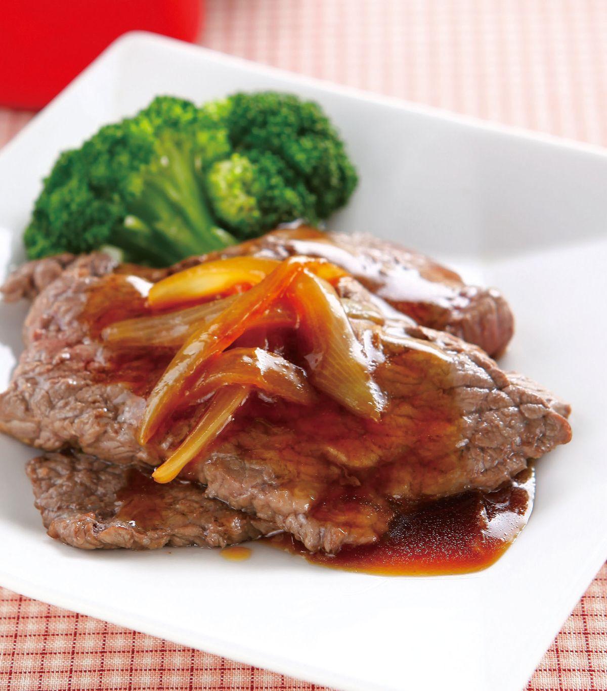 食譜:洋蔥汁牛排