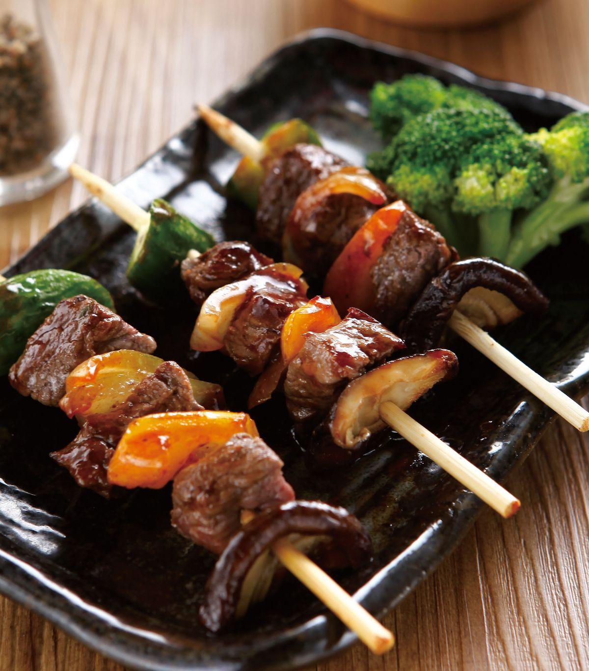 食譜:串烤牛肉