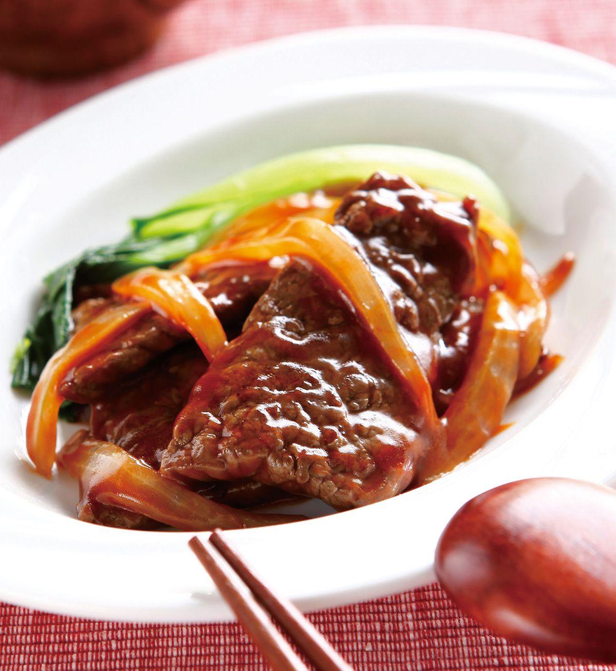 食譜:中式牛排(1)
