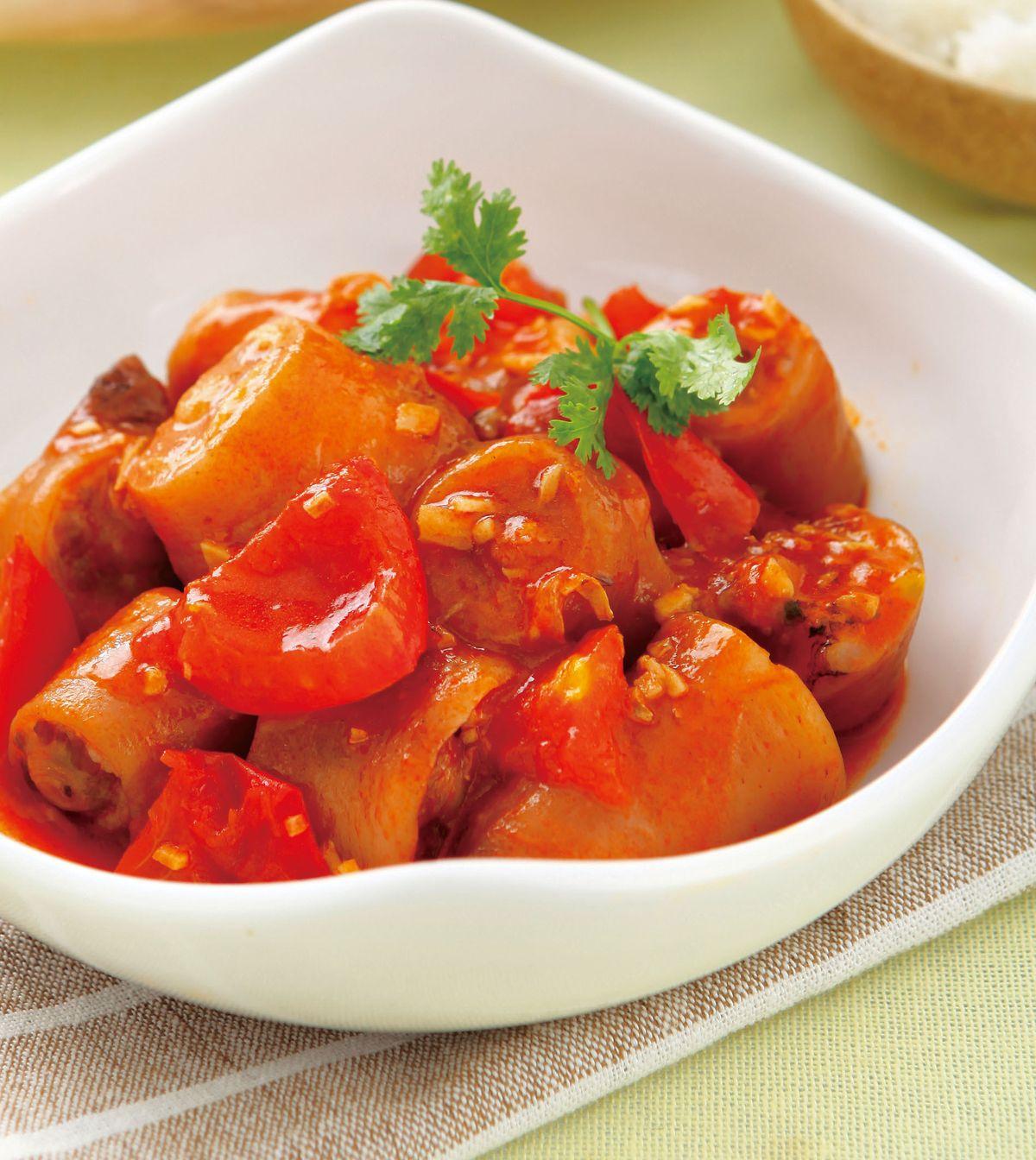食譜:番茄豬尾