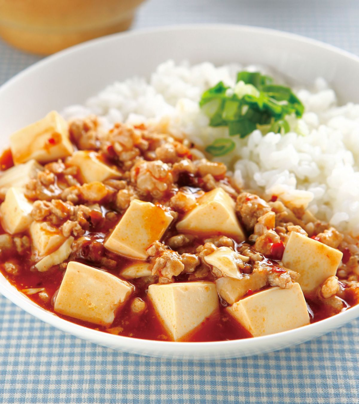 食譜:麻婆豆腐拌飯