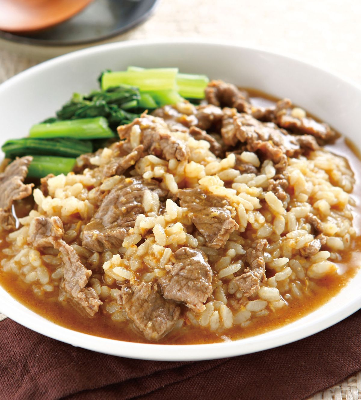 食譜:沙茶牛肉泡飯
