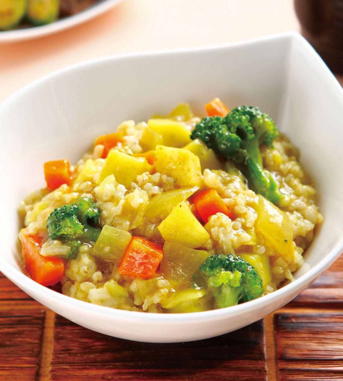 食譜:咖哩蔬菜拌飯