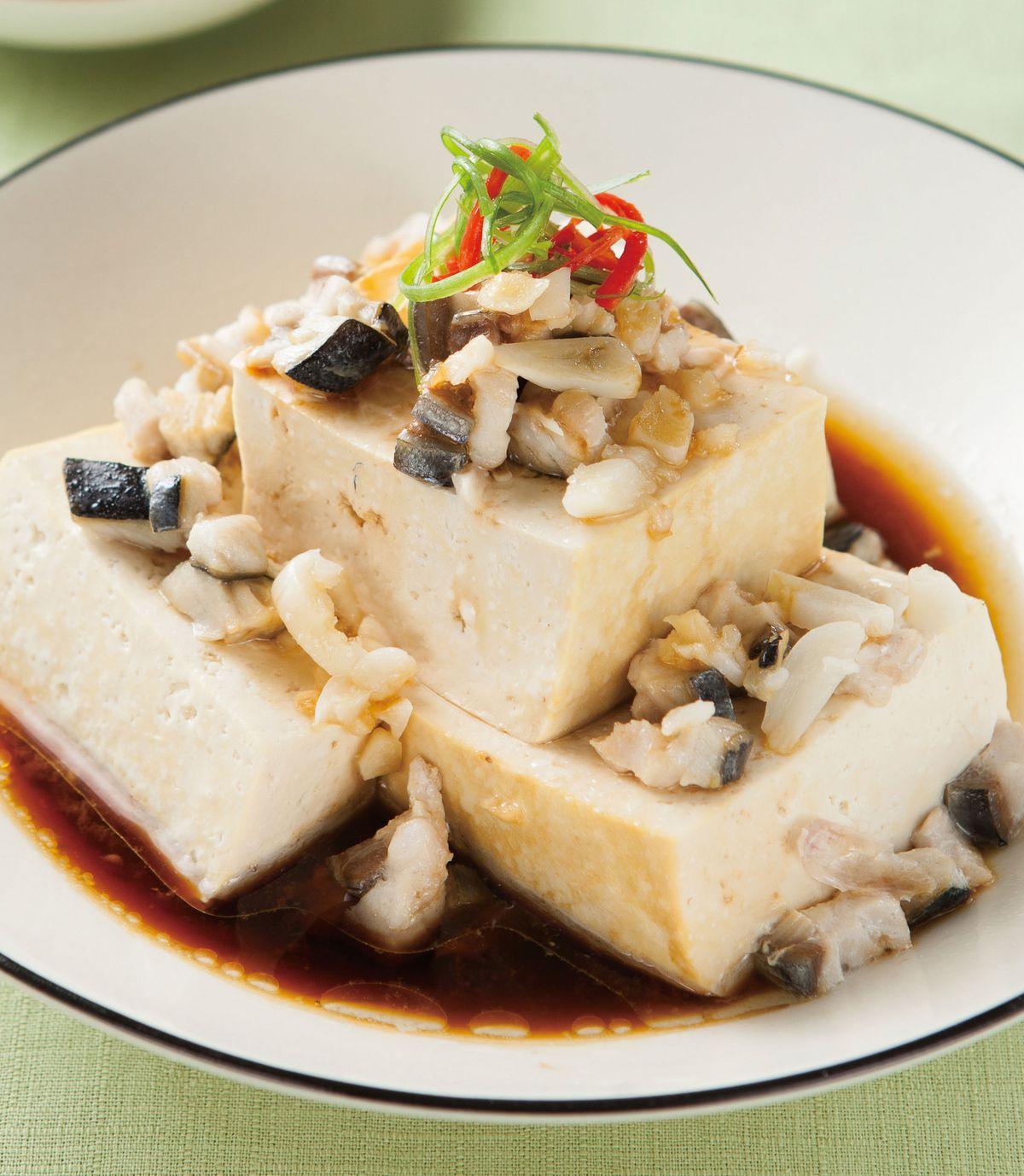 食譜:鹹魚豆腐