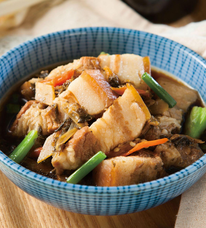 食譜:福菜燜肉