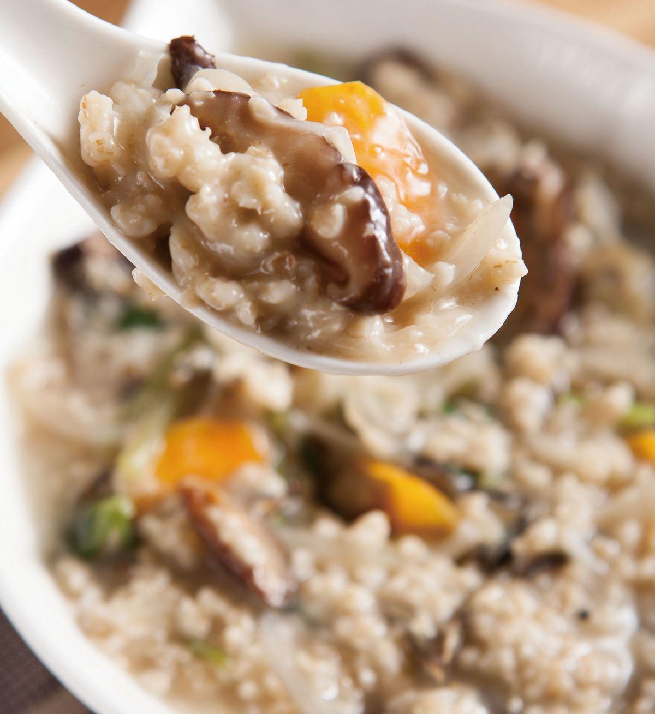 食譜:燕麥蔬菜粥