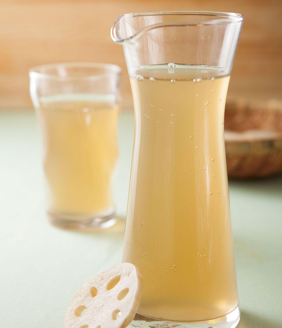 食譜:清涼蓮藕茶