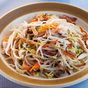 豆芽菜炒雞絲