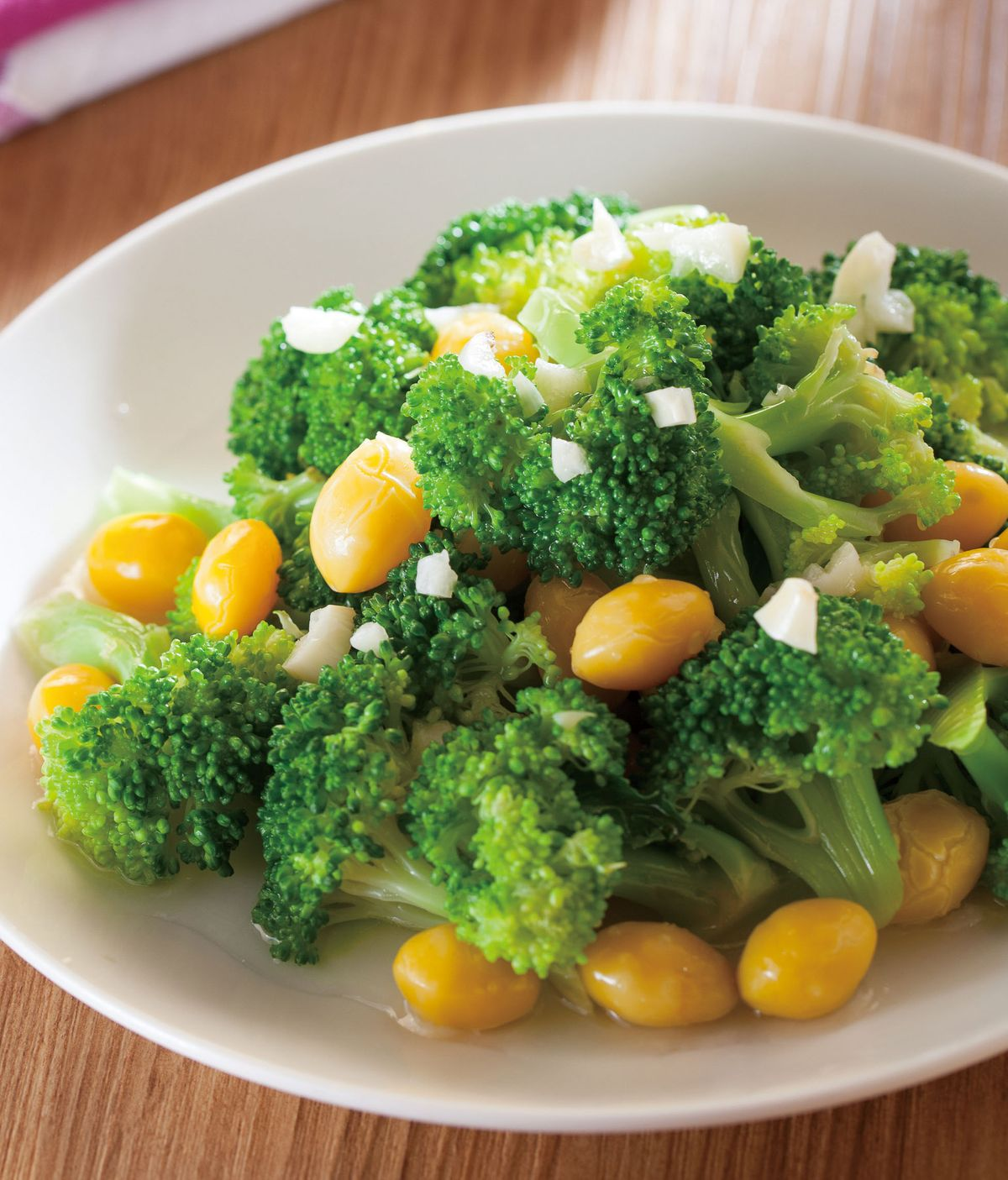 食譜:白果燴花椰菜