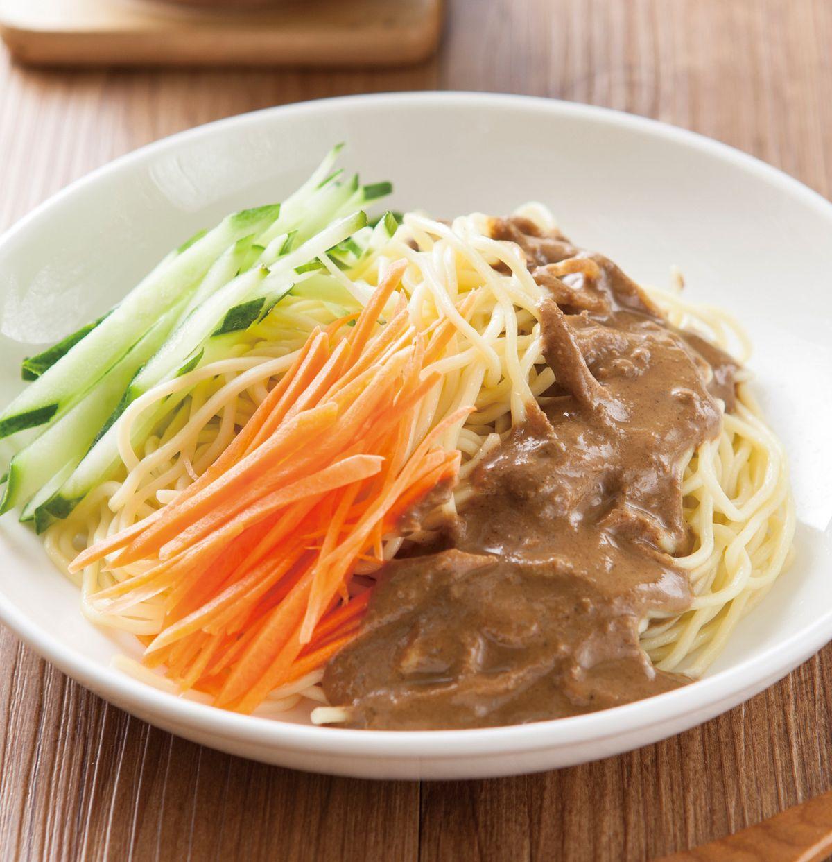 食譜:台式麻醬涼麵