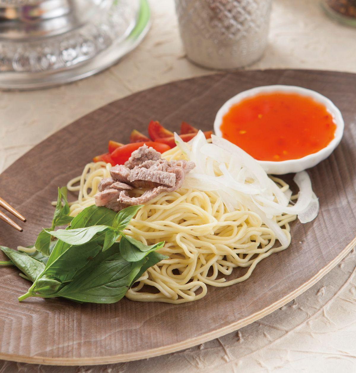 食譜:泰式酸辣涼麵(1)