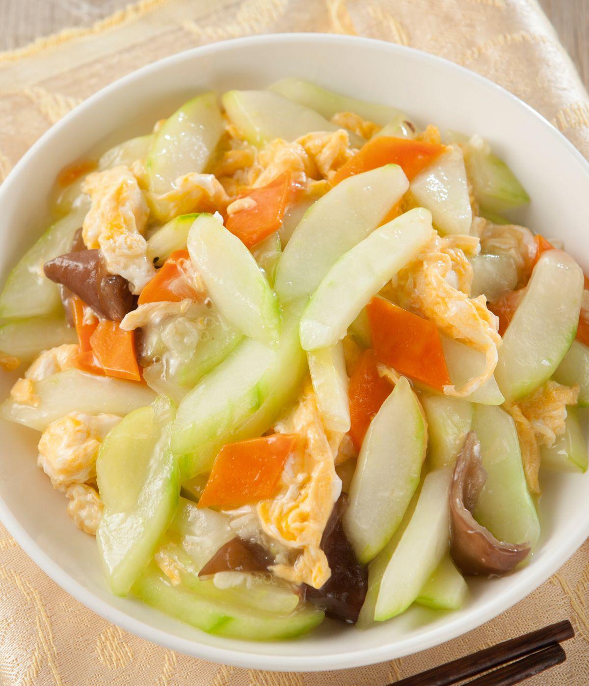 食譜:大黃瓜炒蛋
