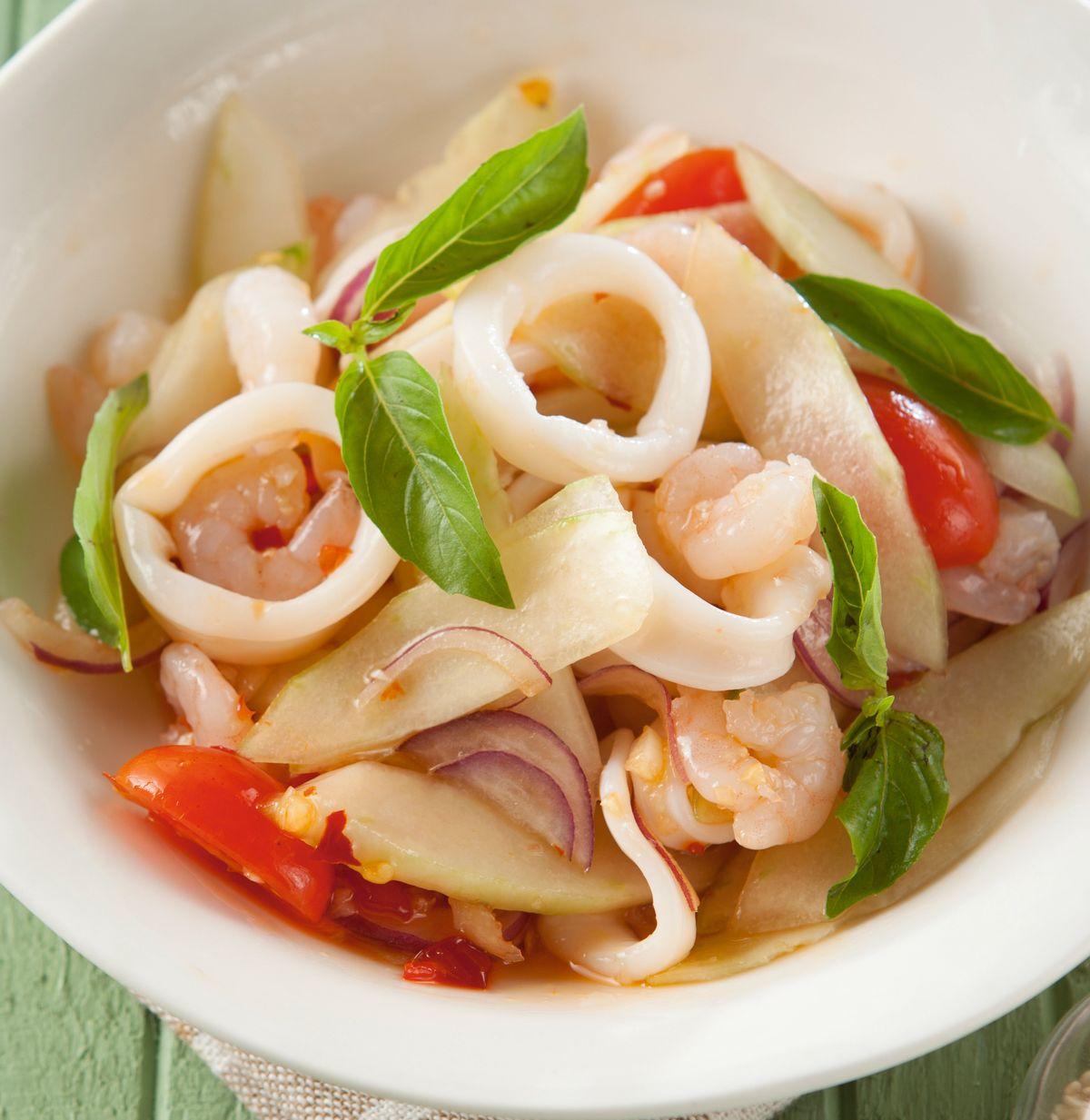 食譜:泰式海鮮涼拌