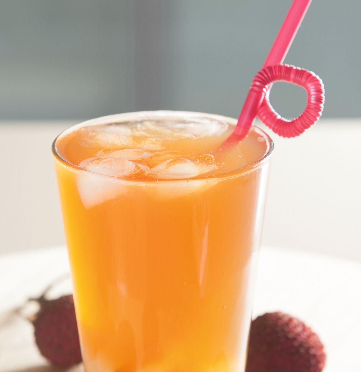 食譜:荔枝冰茶