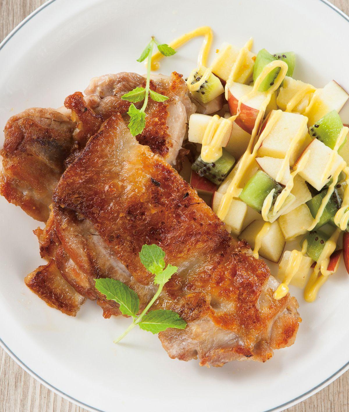 食譜:沙拉檸檬雞排