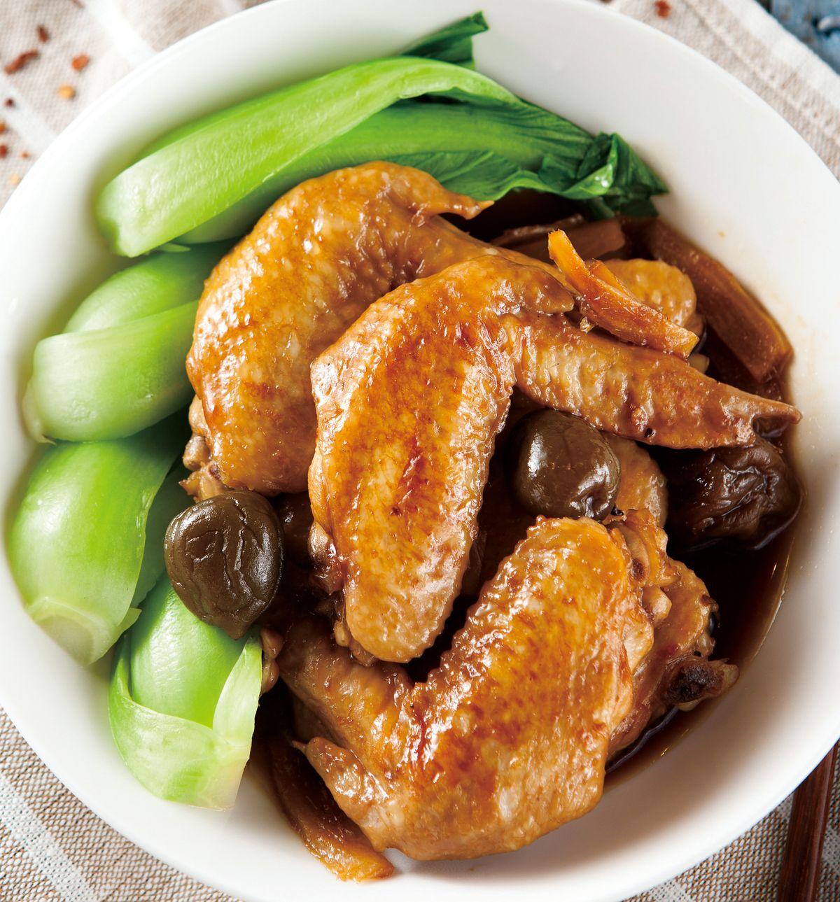 食譜:梅子燒雞翅