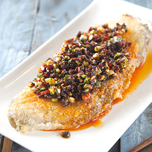 椒香鱈魚排