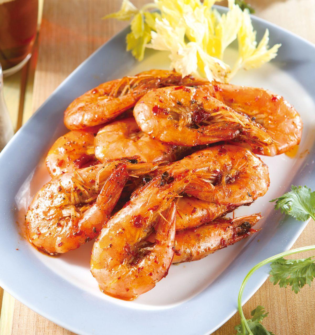 食譜:麻辣油燜蝦