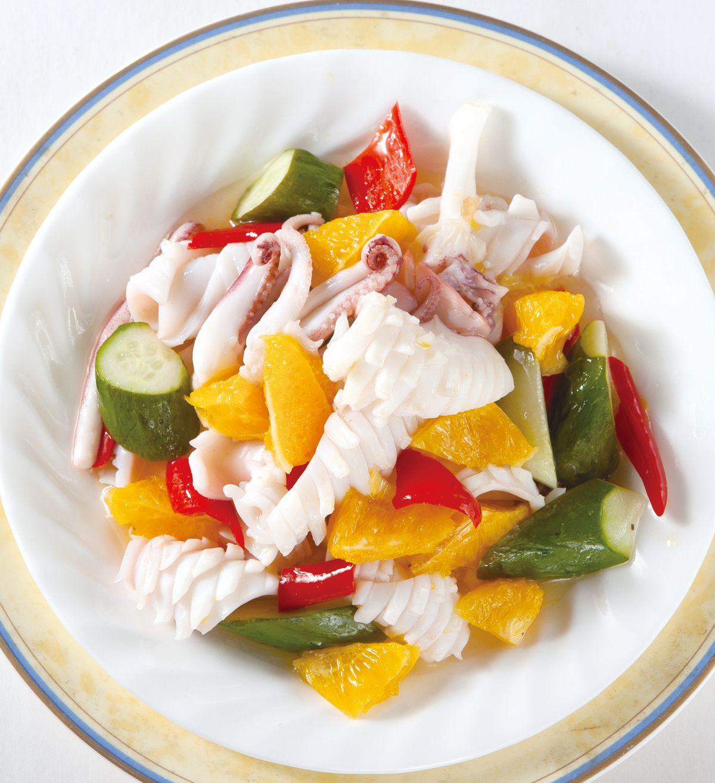 食譜:香橙檸汁魷魚