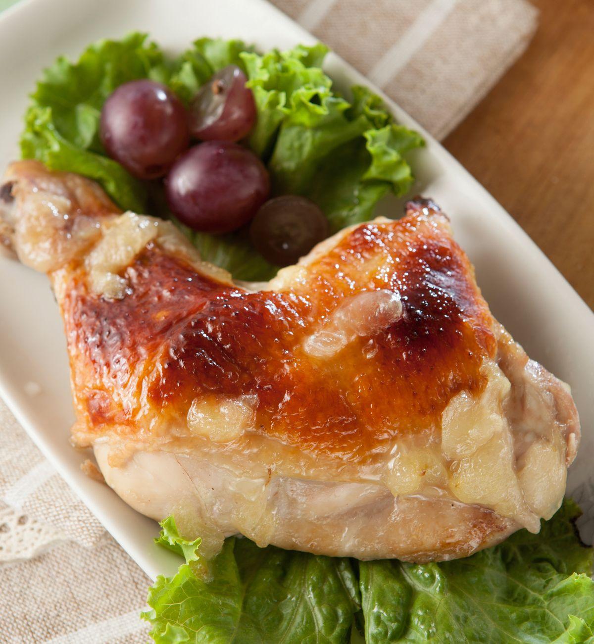 食譜:葡萄烤雞