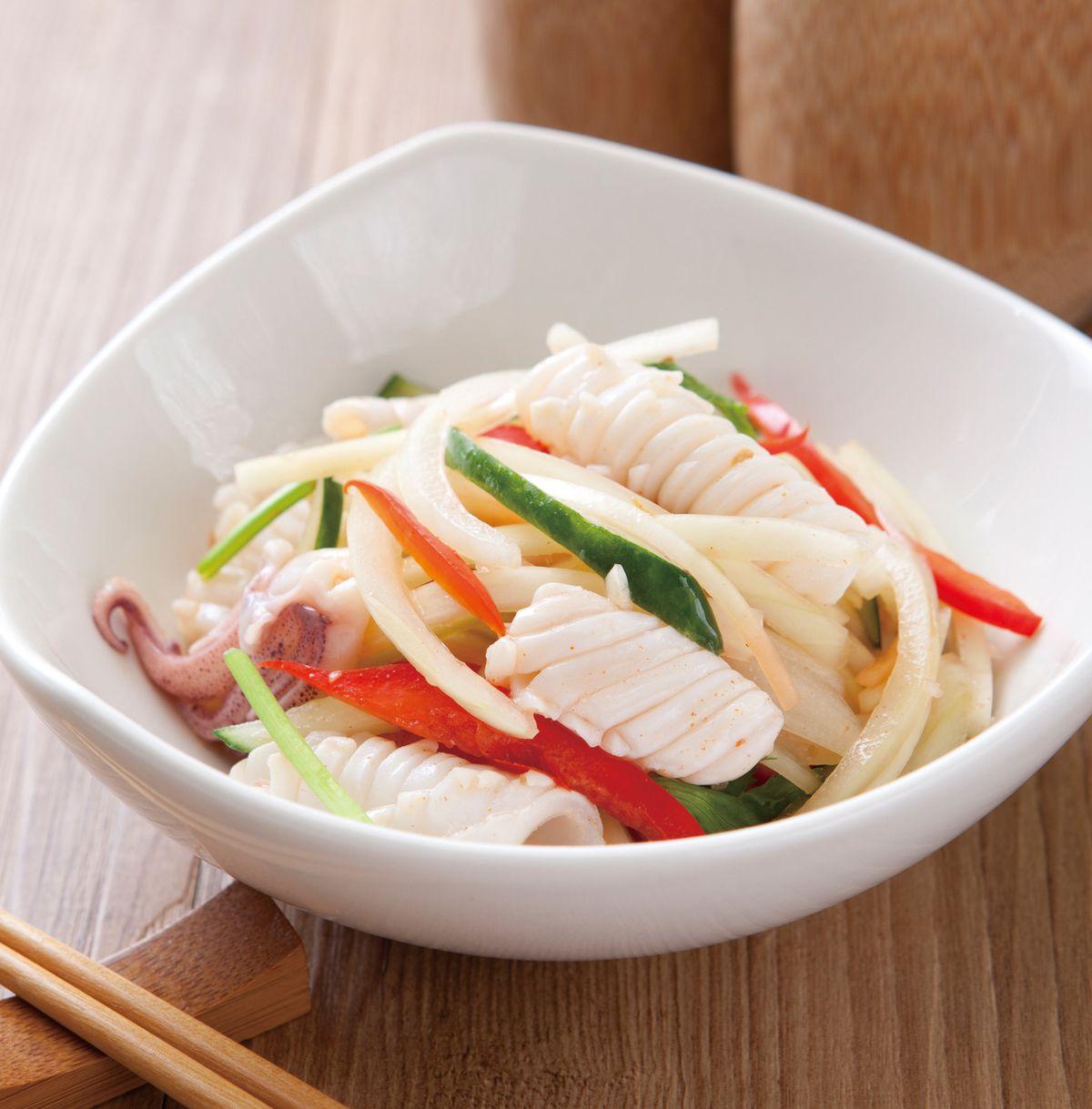 食譜:泰式涼拌花枝(4)
