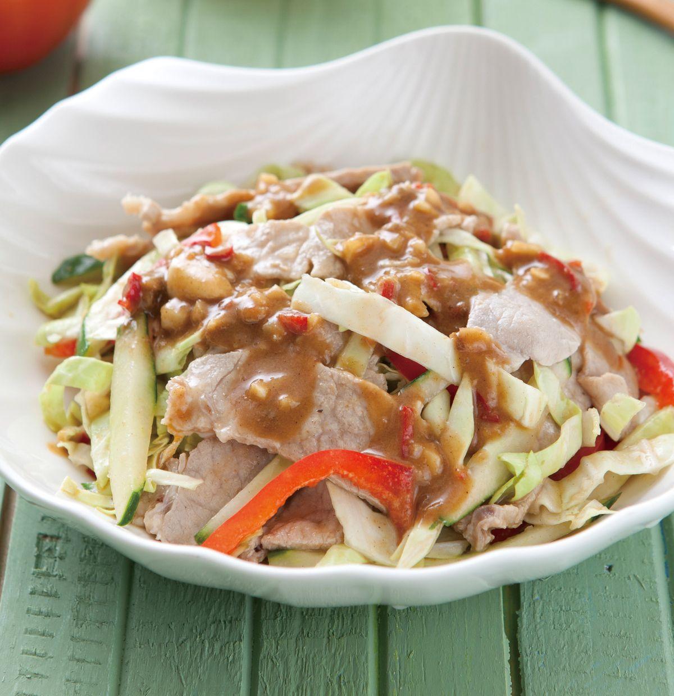 食譜:芝麻豬肉片