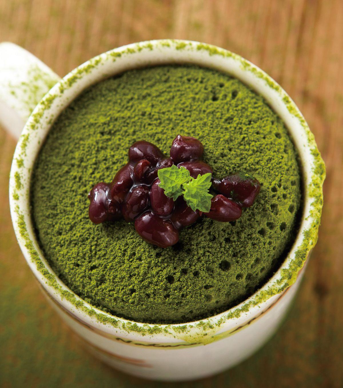 食譜:抹茶紅豆蛋糕(2)