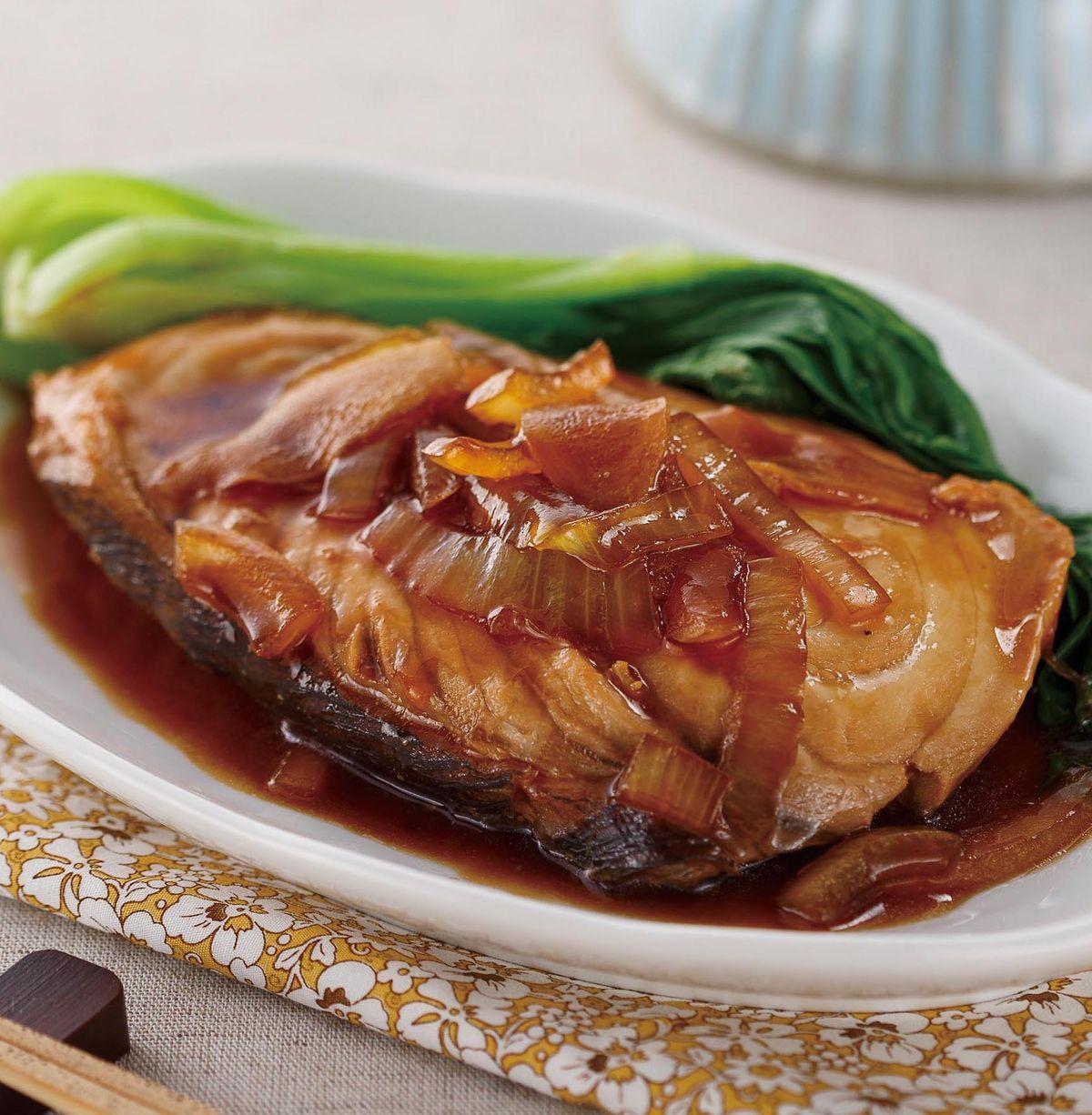 食譜:日式照燒旗魚片