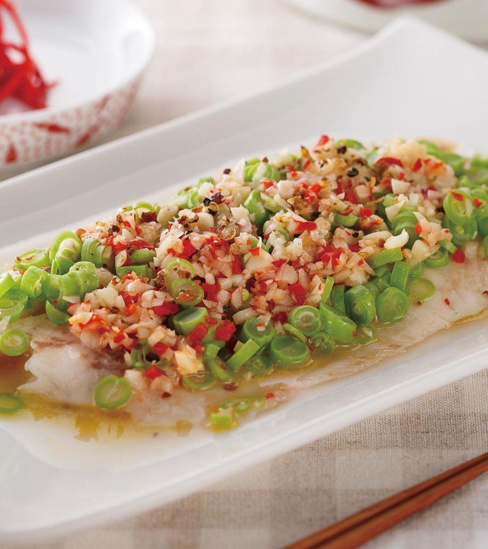 食譜:蒜蓉蒸魚片