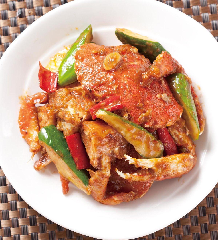 食譜:醬爆螃蟹