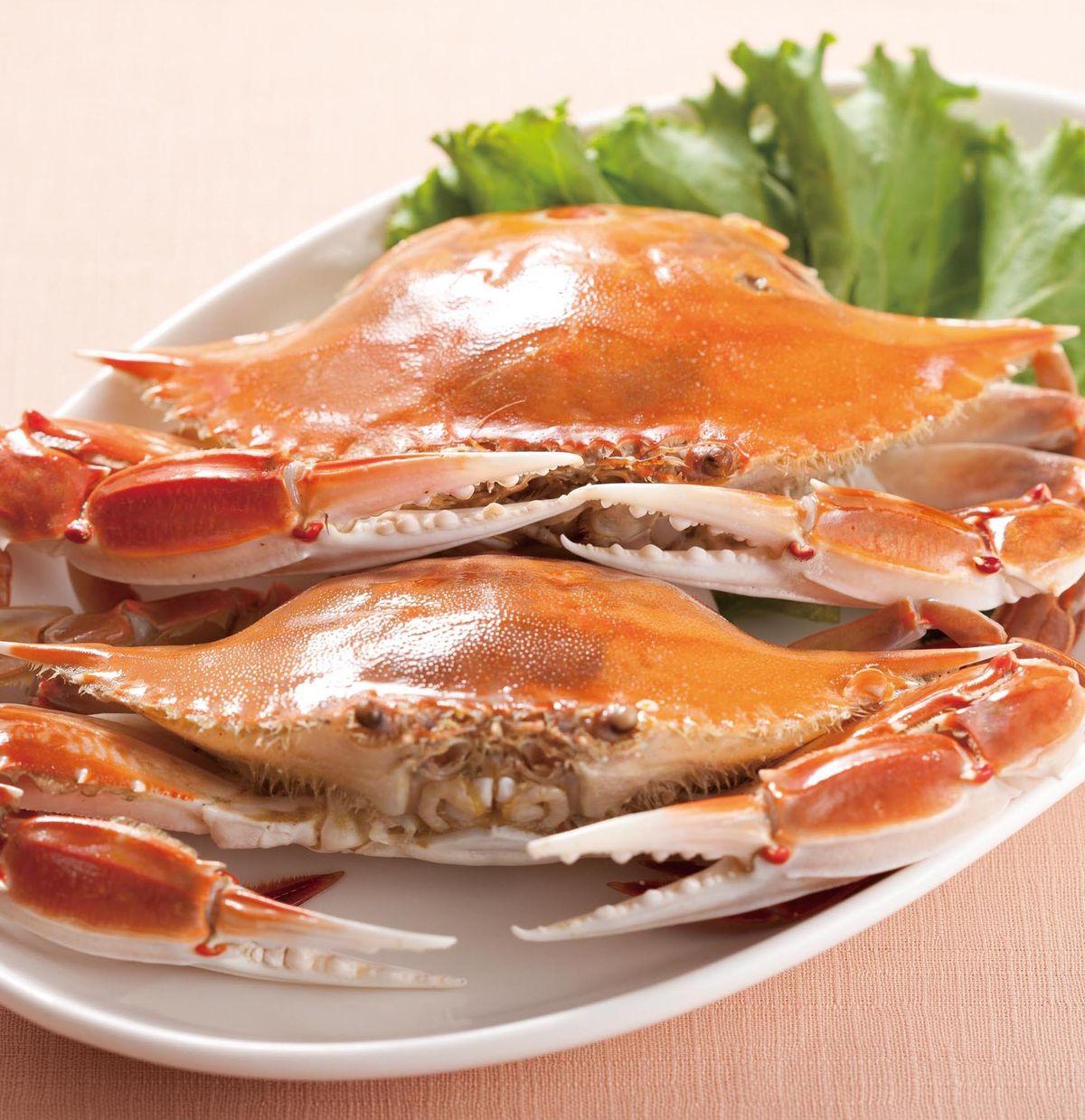 食譜:花雕蒸螃蟹