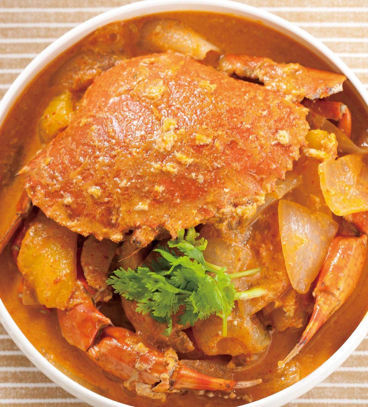 食譜:泰式椰汁咖哩蟹