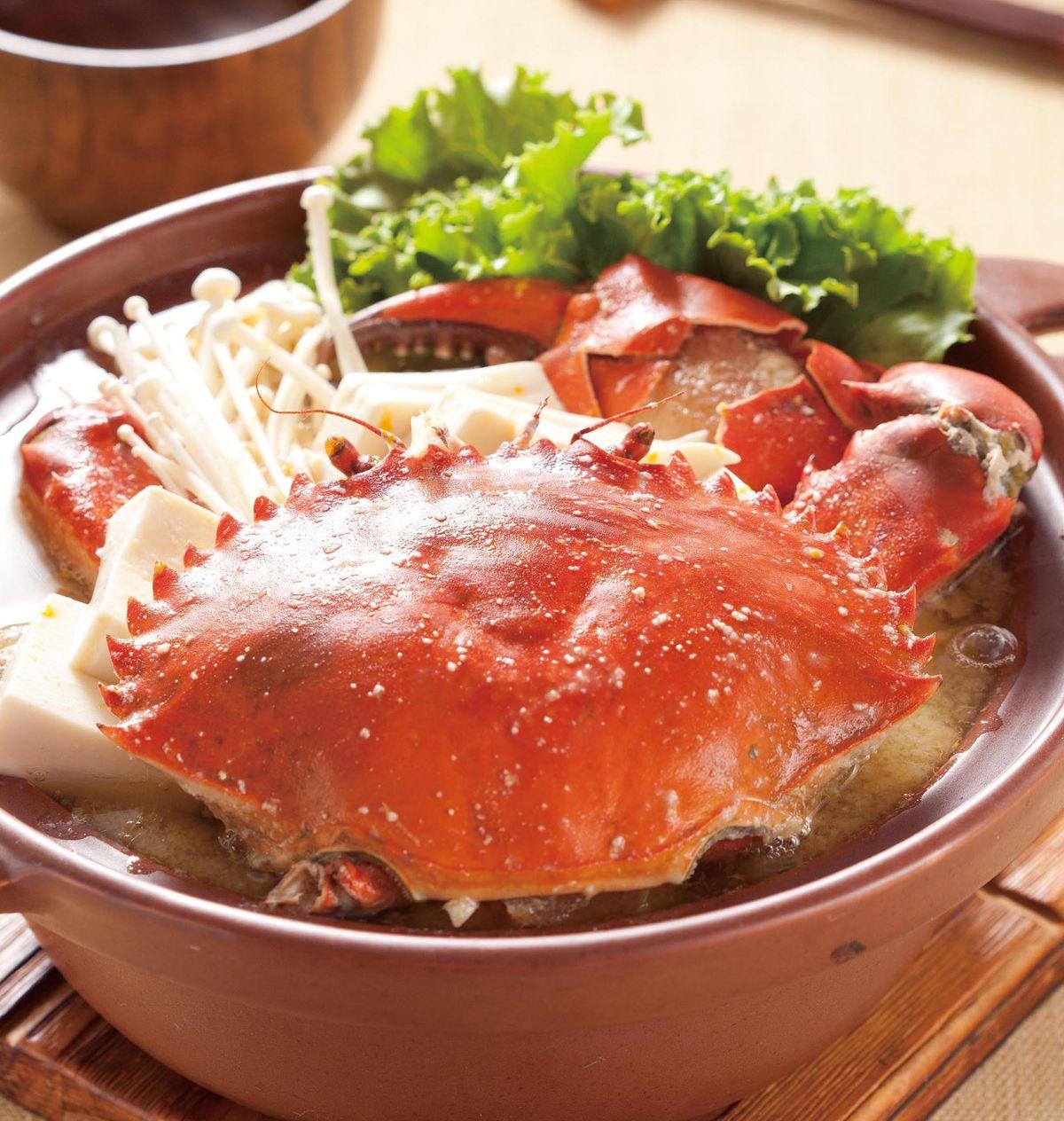 食譜:味噌螃蟹鍋(1)