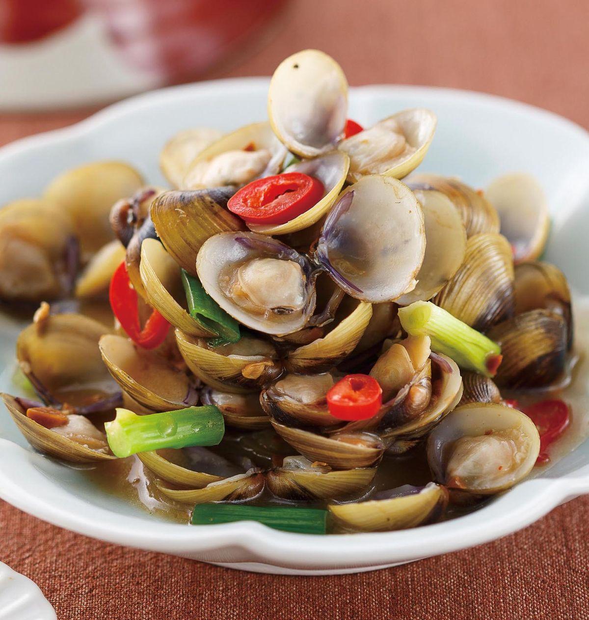 食譜:味噌燒蜆肉
