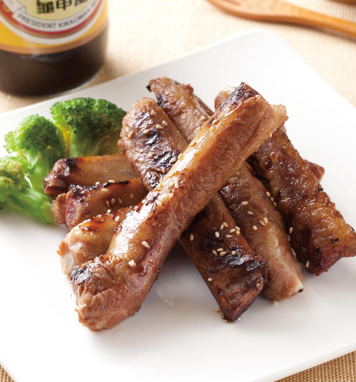食譜:醬烤豬肋